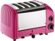 Dualit 4-slice Classic Toaster, Chilly Pink
