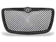 Black Diamond Mesh Vip Sport Grill Grille with Bently Emblem