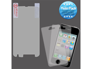 2x LCD Screen Cover Protector Film with Cloth Wipe for Motorola Olympus/Atrix 4G