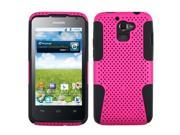 Hot Pink/Black Hard Shell +Silicone Case +Screen Cover For Premia 4G M931