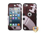 Football/Black TUFF Design Case +Silicone +Screen Protector For iPod Touch 5th