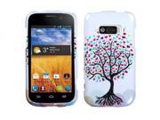 Love Tree Design Snap on Case +Screen Protector For Imperial N9101