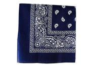 Paisley Cotton Bandanna Head Wrap in Many Colors