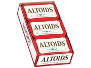 Altoids Curiously Strong Mints , Peppermint , 1.76-Ounce Tins (Pack Of 12) -
