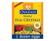 Ovaeasy Powdered Whole Egg (4.5 Oz Bag) - Great For Camping/Hiking