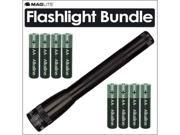 Mini Maglite Led 2-Cell Aa (Black) -