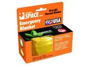 Space 127012 Emergency Blanket - Gold -
