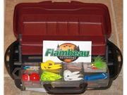 Flambeau 1-Tray Tackle Box W/Rtf Tackle Kit Included - Freshwater - 360Pc Assortment