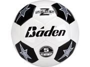 Baden Z-Series Official Size 5 Cushioned Tpu Soccer Ball , Black/White - Sz5 Soccerball