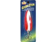 GAME FISH SPOON 7/8OZ RED/WHT