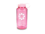 """Nalgene """"BPA FREE"""" 32oz Wide Mouth Tritan Water Bottle - Pink w/ Pink Cap"""