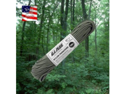 Fox Nylon Braided Paracord, Foliage Green, 100' Hank