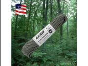 Fox Nylon Braided Paracord, Foliage Green, 100' Hank