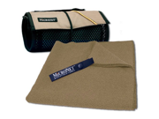 MICRONET MicroTerry Towel, Large, Mocha