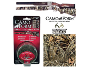 """Camo Form """"Realtree MAX-4"""" Camouflage Gun & Gear Self Cling Stretch Wrap"""