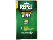 Repel 123724 Repel Mosquito Wipes with 30 percent Deet