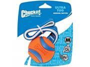 CHUCKIT! ULTRA TUG BALL MEDIUM - Fetch Rubber Use w/ Launcher Dog Toy