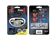RideLit - LED Riding Light and Safety Flasher -Red (NI-RTL-07-10) -