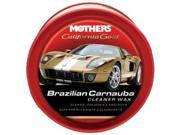 MOTHERS POLISH 05500 / Mothers California Gold Brazilian Carnauba Cleaner Wax Paste - 12oz