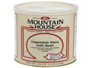 Mountain House Size 10 Can - Vegetable Stew with Real Beef