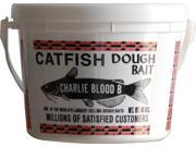 Catfish Charlies Cb-6-45 Dough Bait Blood Bucket, White, 45-Ounce - Blood Bait Type B W/Blood  -  Lg