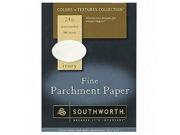 Southworth Company SOU984C Fine Parchment Paper- 24Lb- 8-.50in.x11in.- Ivory
