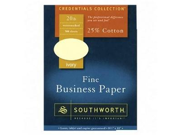 Southworth Company SOU404IC Fine Business Paper- 24 lb.- 8-.50in.x11in.- Ivory