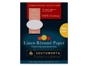 Southworth Company SOURD18GCFLN Resume Paper- Linen- 32 lb- 8-.50in.x11in.- Gray