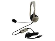 Califone 3064AV-USB Supra-aural Multimedia Stereo Headset