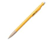 BICMechanical Pencil Xtra Strong, 0.9 mm, Yellow Barrel, Dozen