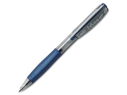 BICBU3 Retractable Gel Roller Ball Pen, 0.7 mm, Blue
