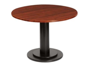 "Iceberg 69135 OfficeWorks 69135 Single Column Conference Table Base 29"" Height - Steel - Black Base"