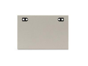 "HON WS2437G2 Simplicity II Worksurface, Rectangle - 24"" x 37"" x 1.1"" - Particleboard - Gray"