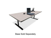 """Bretford RECTP4220NB Laminate Conference Table Top Rectangle - 10 ft x 42"""" x 29"""" - Particleboard - Nebula Gray Top"""