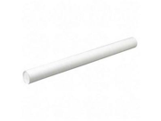 Quality Park Products QUA46026 Mail-Storage Tube- Fiberboard- 3-.50in.x42in.- 25-CT- White