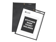 C-Line Products- Inc. CLI45912 Shop Ticket Holder- Stitched- 9in.x12in.- Clear-Black