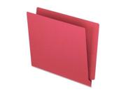 Esselte Pendaflex Corporation ESSH110DR End Tab File Folder- .75in. Exp.- 11 pt.- Letter- Red