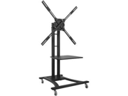 "Atdec TH-TVCB 32""-65"" Telehook Mobile Cart LED & LCD HDTV Max Load 110 lbs for Samsung, Vizio, Sony, Panasonic, LG, and Toshiba TV"
