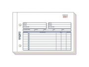 """Rediform Invoice Form50 Sheet(s) - 3 Part - Carbonless - 5.50"""" x 7.87"""" Sheet Size - Assorted - 1 / Each"""