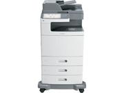 Lexmark X792DTE Laser Multifunction Printer - Color - Plain Paper Print - Floor Standing (47BT021)
