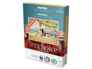 "Domtar 85283 First Choice Copy Paper Letter - 8.50"" x 11"" - 500 / Ream - White"
