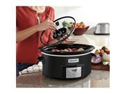Crock- Pot SCCPVC600ASB Slow Cooker