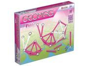 Geomag Construction Set Pink - 66 Piece