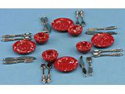 Dollhouse SILVERWARE, 16PK