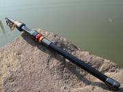 2.4M 7.87FT Portable Telescope Fishing Rod Travel Spinning Fishing Pole