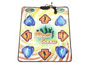 USB Non-slip Dancing Step Dance Mat Pad Blanket 100 Songs 9 Games for PC & TV