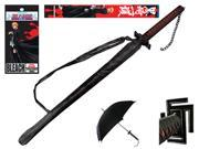 The Official Licensed Bleach Anime Sword Handle Umbrella Ichigo Kurosaki