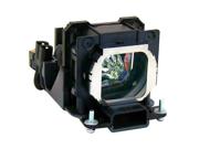 Projector Lamp for Panasonic PT-LB20SU with Housing, Original Philips / Osram Bulb Inside