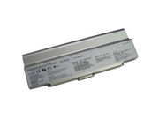 Compatible for Sony VAIO VGN C50HB/W 12 Cell Silver Battery