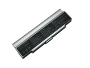 Compatible for Sony VAIO VGN FE570G 9 Cell Silver Battery